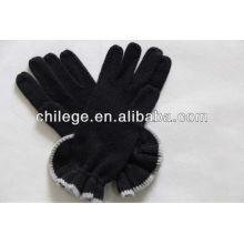 2013 Mesdames gants en cachemire à volants