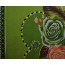 Printed Polyester Pongee Fabric for Garment