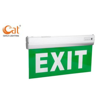 Luz de salida de emergencia LED recargable FAT