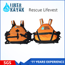 High Quality 400d Terylene Oxford Textile Rescue Life Vest/Life Jacket/Inflatabl Lifevest