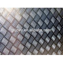 Bobine en aluminium gaufré pour équipement de réfrigération