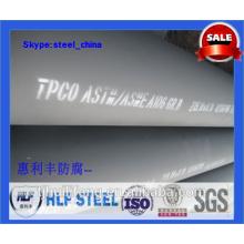 Эпоксидная краска стальные трубы astm a53 эпоксидная грунтовка с эпоксидным покрытием, покрытая цинком 007