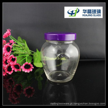 Hot venda Hj167 10oz pode frasco de vidro