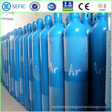 40L High Pressure Seamless Steel Argon Cylinder (ISO9809-3)