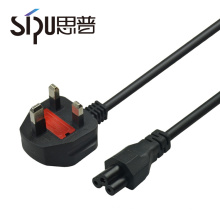 SIPU high quality ccc 3 pin waterproof UK power cable for computer best price OEM power plug electric cable