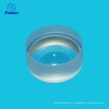 Silicone fondue JGS1 AR revêtu de lentilles ménisques négatives