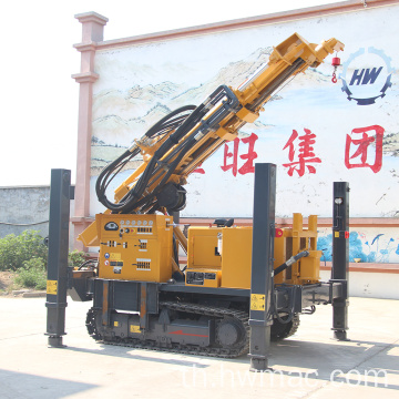 Crawler Pneumatic Drilling Rig สำหรับน้ำ