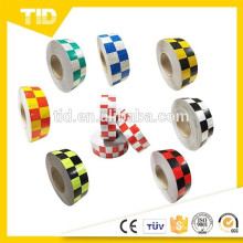Checkered Reflective Tape, colored, safety reflective tape
