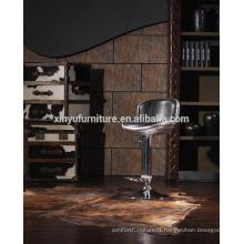 2015 high quality genuine leather hig bar chair stool A623A