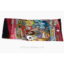 Laminated Foil-covered bag for packing snack