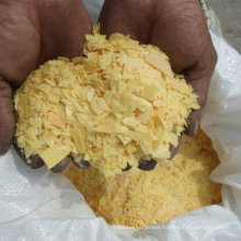 Qualified Used in Ming and Yellow Flakes 60% Sodium Sulphide