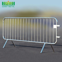 Konstruksi Metal Bollards Crowd Control Barrier