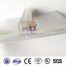100% leaking-proof u-lock polycarbonate pc sheet