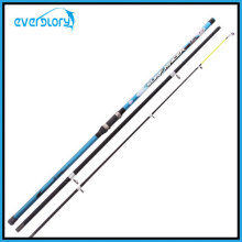Blue 3PCS Surf Rod Fishing Tackle in Competitive Price
