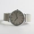 Uhr Quarz klassische Männer Armbanduhr Edelstahl zurück