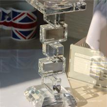 Правильная цена верхнего качества handmade цилиндрической формы кристалл стеклянные награды, кубки