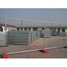 Feuerverzinkter temporärer Zaun mit hoher Zinkbeschichtung