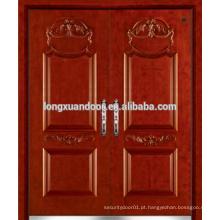 Fábrica de vendas quente porta dupla de aço, porta de ferro