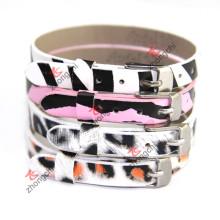 Мода 8мм кожаный браслет ювелирные изделия для детей Jewellry (ZC-B06)