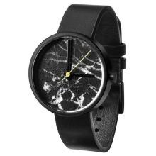 Spezielle Design Edelstahl Fashion Watch mit Marmor Zifferblatt Bg293
