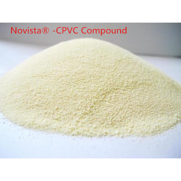 Gechloreerde Polyvinyl Chloride CPVC compound buizen fittingen