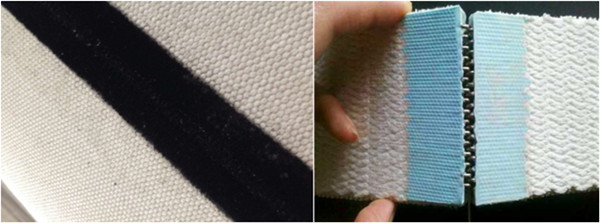 Cotton Braided Belt seam