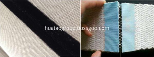 Cotton Canvas Conveyor Belt seam