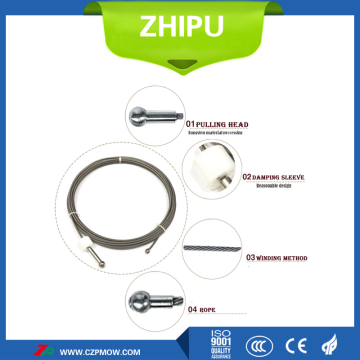 Dia4.0 Tungsten wire rope for vacuum furnace