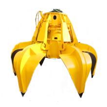 Mechanische Werkzeuge greifen mit vier Seilen Clamshell Grab