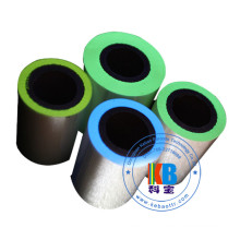 Printer UV thermal  blue green yellow red color security ribbon