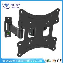 Soporte giratorio de montaje en pared giratorio Full Motion Articulating Tilting TV