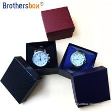 Dongguan OEM custom black kraft a2 paper box birthday gift boxes jewelry cardboard flat watch set box