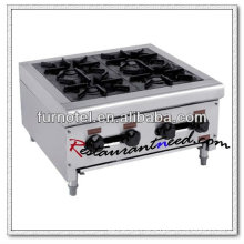 K222 Stainless Steel 4 Burners Clay Pot Gas Stove Burner