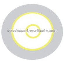 guangdong factory alarm piezo ceramic disc 3.0khz 35mm piezo diaphragm