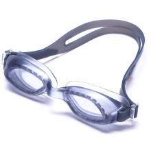 Gafas profesionales de la natación del silicón de la lente 2015 de la PC Anti-Fog