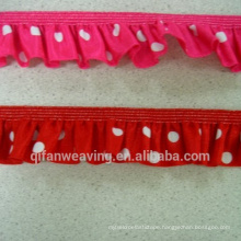 China Manufacture customize Eco-friendly Okeo-Tex Standard Trimming Lace Ribbon