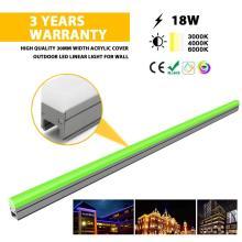 Luz lineal LED para exteriores de alta calidad multicolor