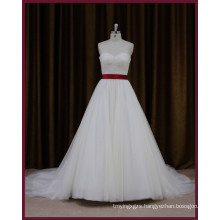 High Quality Real Sample Wedding Dress