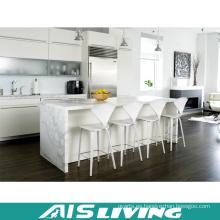 Matt Lacquer con muebles de cocina de cuarzo (AIS-K433)