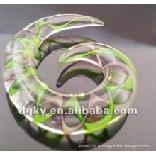 Acrylique Ear Spiral Taper Body Piercing Jewelry