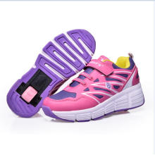Hot Sell Skate Wheel Shoes Boys Girls Auto Retractable Sneakers Trainers