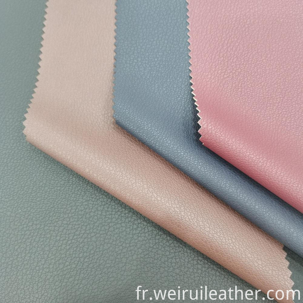 Small Litchi Grain Pu Leather 1