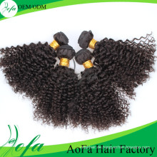 7A Grade Menschenhaarverlängerung, 100% unverarbeitete Remy Virgin Hair