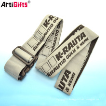 Wholesale Custom Cheap polyester luggage strap woven luggage belt