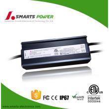 Се ЭТЛ перечисленный FCC 12 в 80 Вт светодиодов водитель 0-10v затемняя