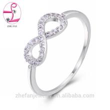 2018 único mens claddagh branco ouro diamante anéis de casamento
