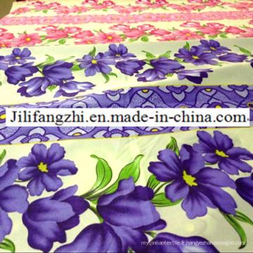 Housse de protection / literie / chimique / textile de maison / tissu pongé en polyester