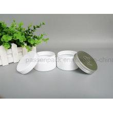 Weißes Haustier-Plastikdose für kosmetische Sahneverpackung (PPC-76)