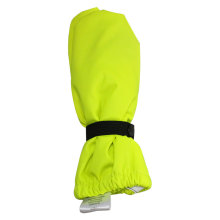 Flourescent Yellow PU Rain Mitten for Baby/Child