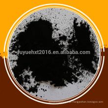 Carbono ativado em pó para tratamento de gases de combustão